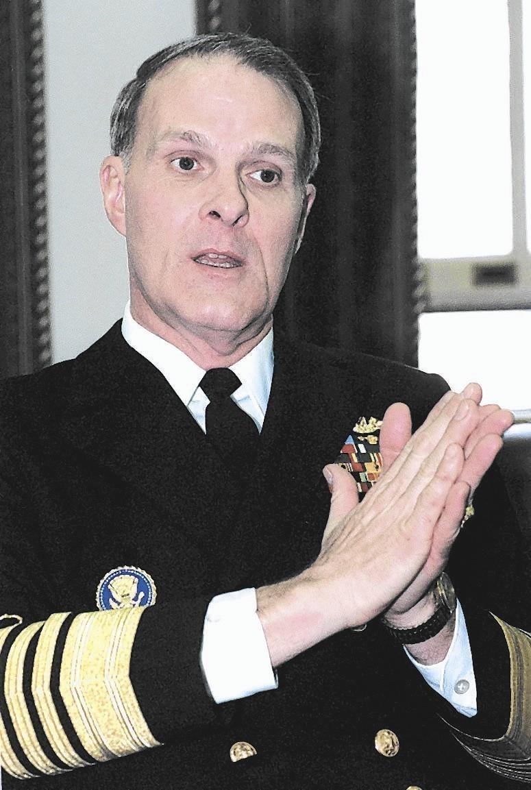 b275cc3e04b Naval Academy to rename superintendent s office to  Larson Hall  - Capital  Gazette