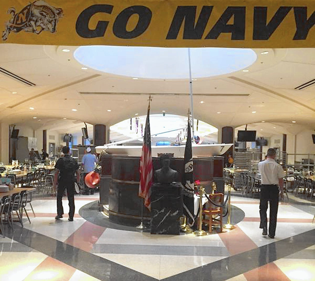 Dining Hall: Why Was A Sailboat Found In The Naval Academy Dining Hall