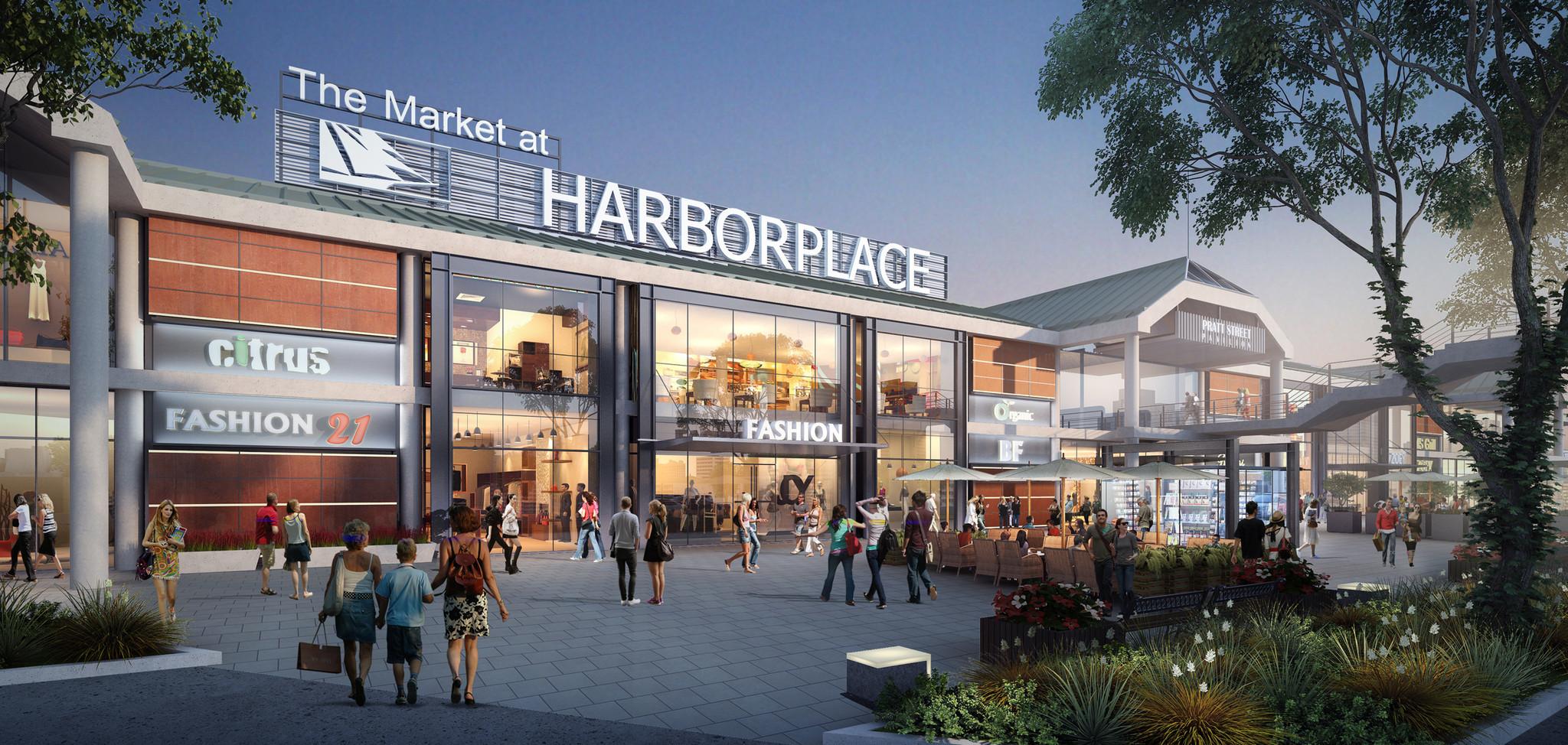 Harborplace Owner Presents Redevelopment Plan Baltimore Sun