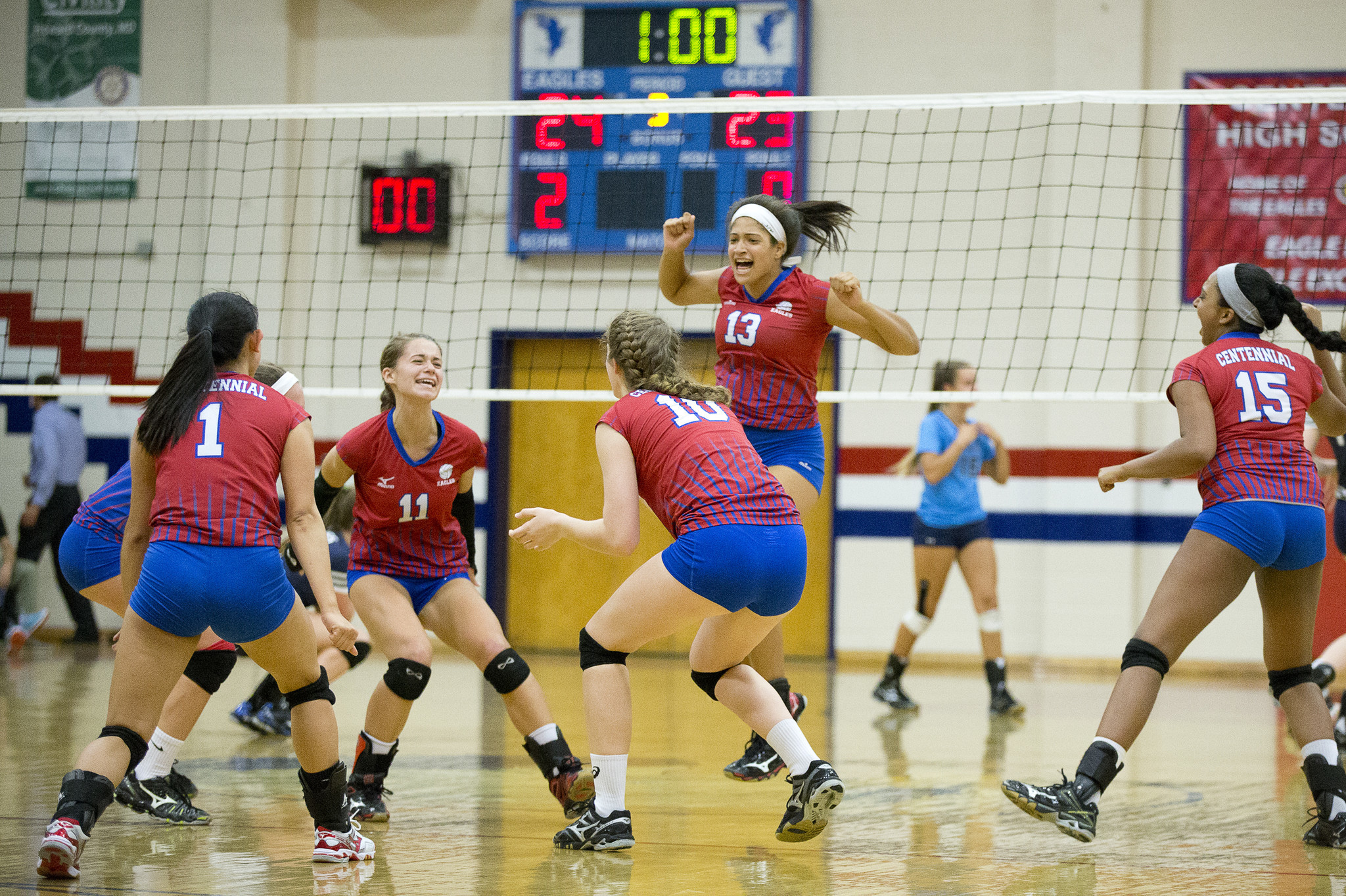 Centennial volleyball hands Marriotts Ridge first loss in ...