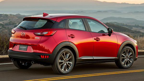 2016 Mazda CX-3 crossover is small but packed - Chicago ...