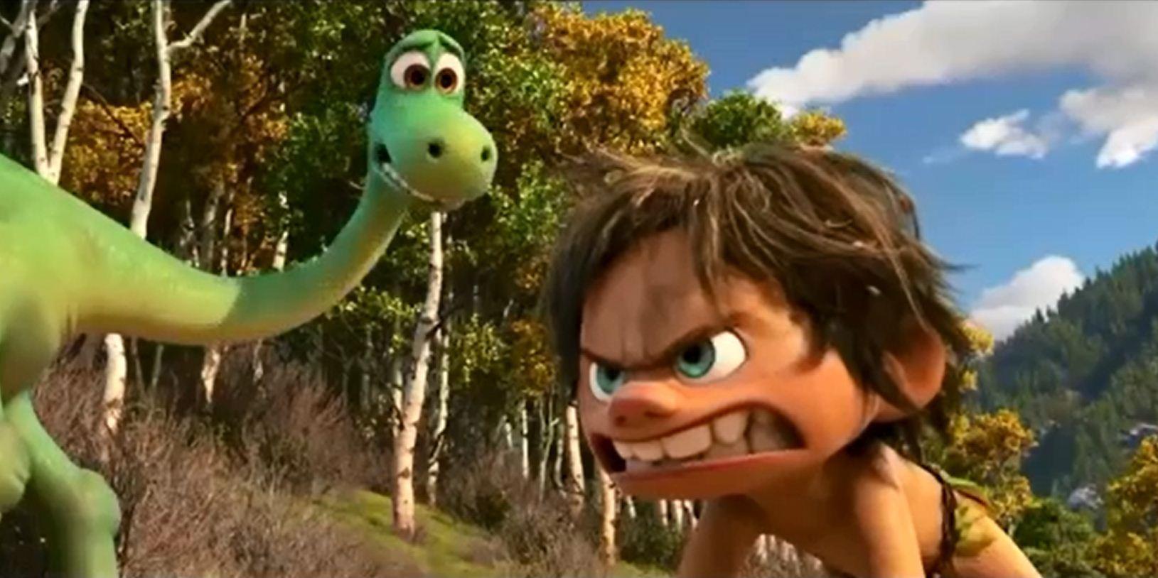Triceratops The Good Dinosaur: New 'The Good Dinosaur' Trailer Shows Dino-boy Friendship