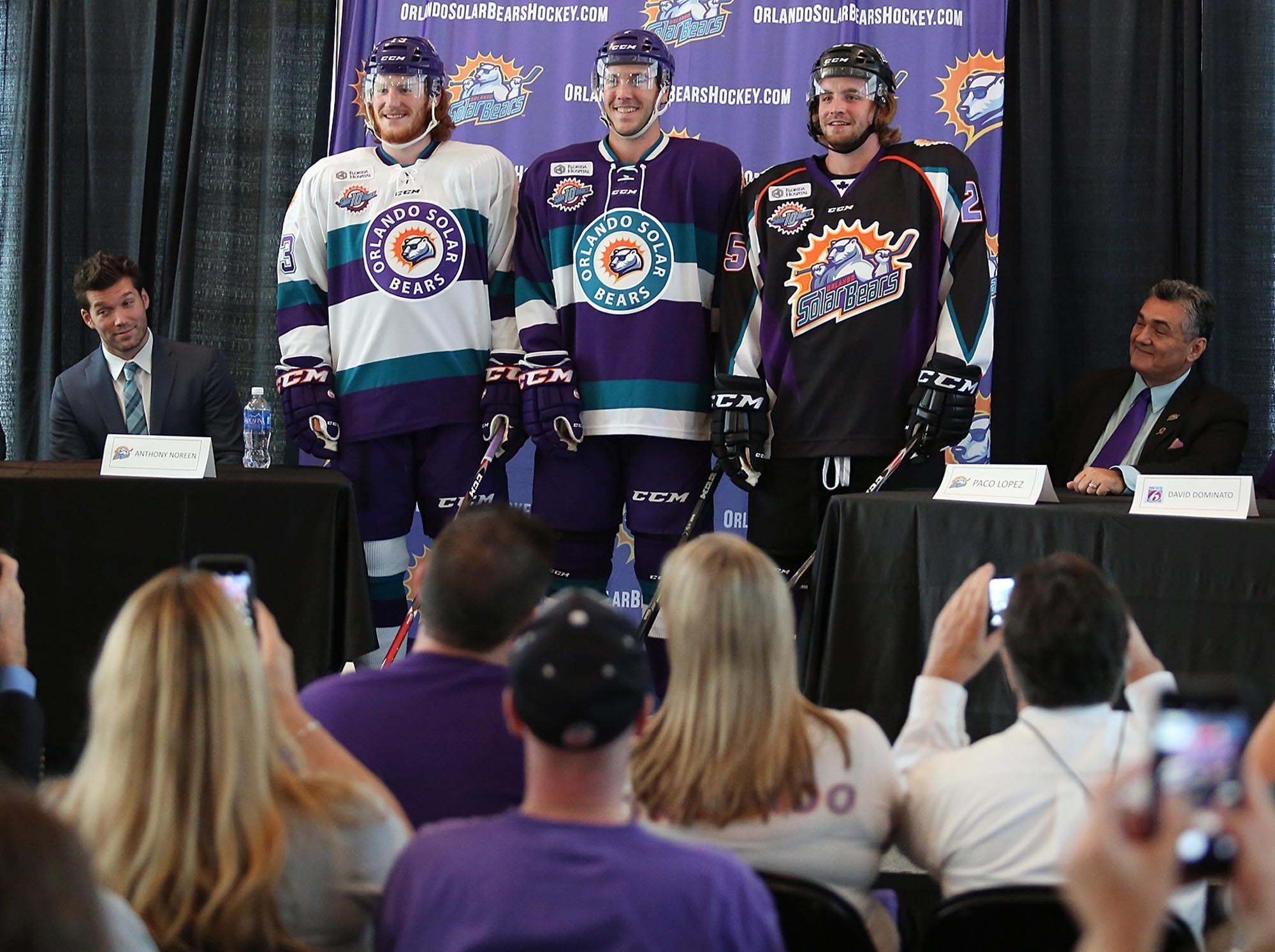 c8ec00a99 Solar Bears announce UCF hockey game for Amway Center - Orlando Sentinel