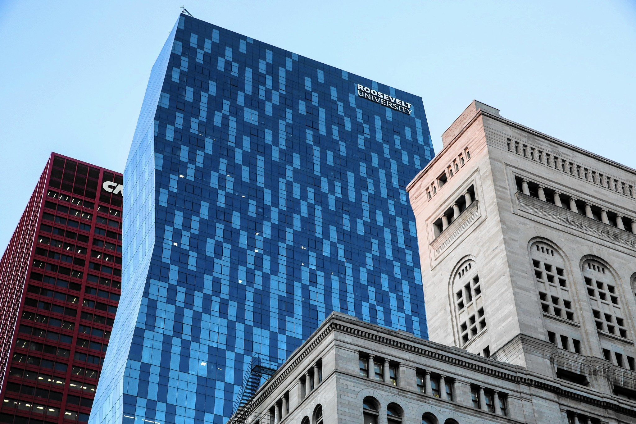 Three Years After Building Skyscraper Roosevelt