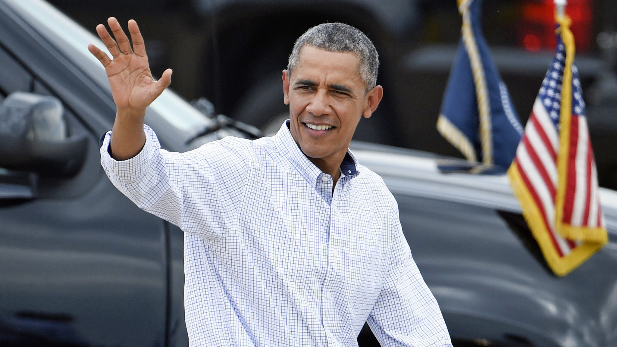 President Obama in San Diego on Monday. (Denis Poroy / Associated Press) ()