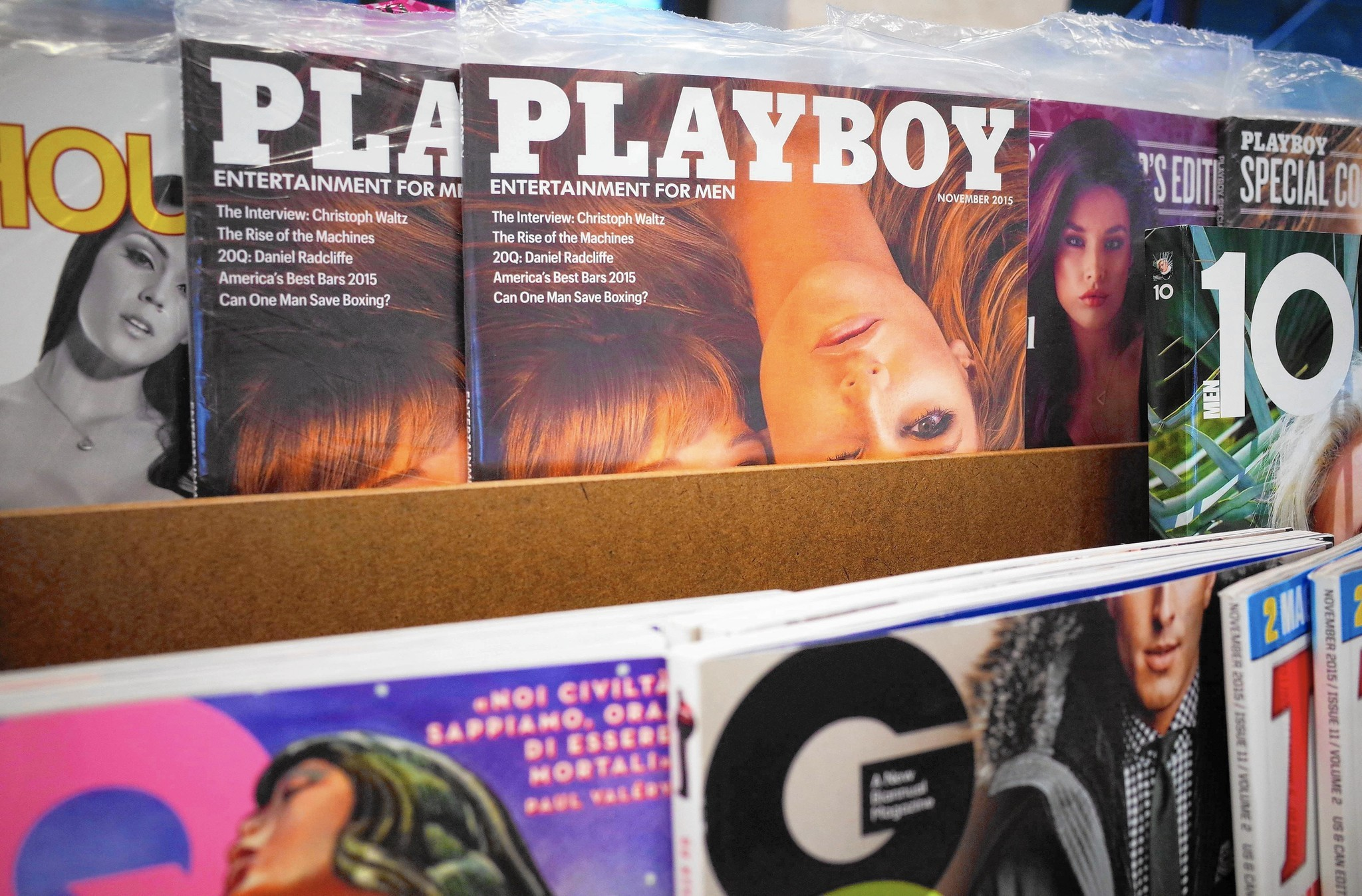 Why Are Models Getting Clothes Back Because Playboy Is No Longer