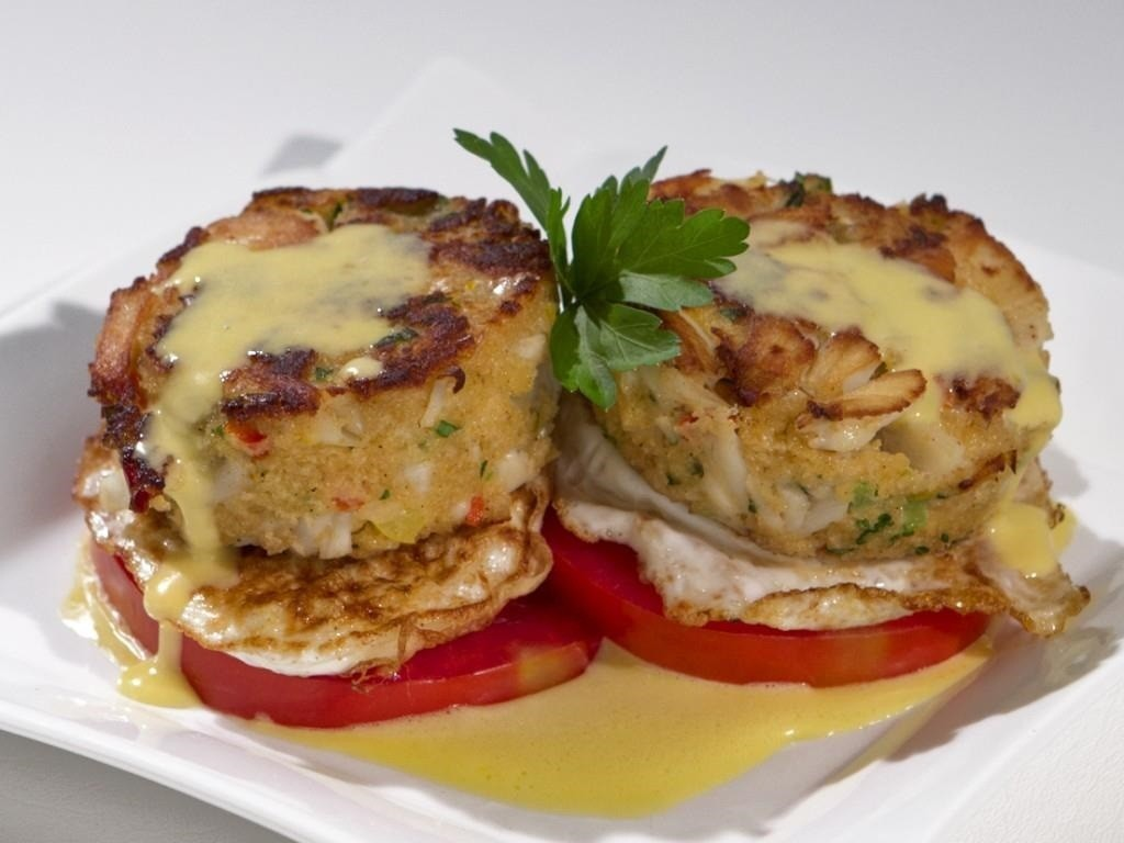 Crab Cake Recipe Low Calorie: Morning Mix Recipe Of The Week: Blue Crab Brunch Benedict
