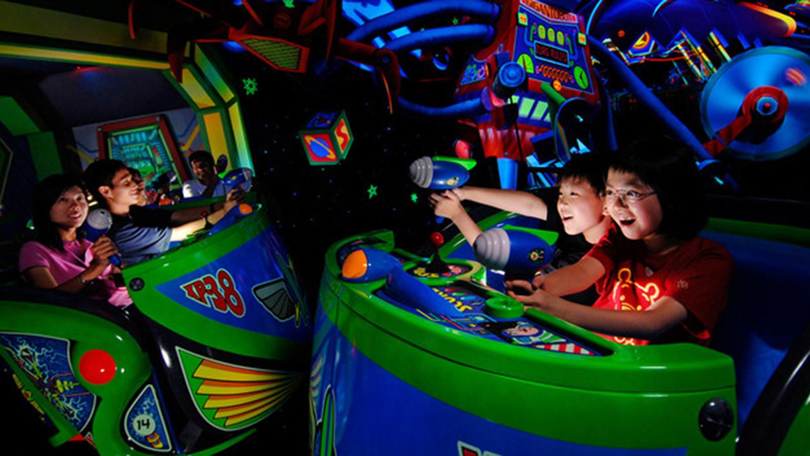 25 Best Theme Park Dark Rides In The World La Times