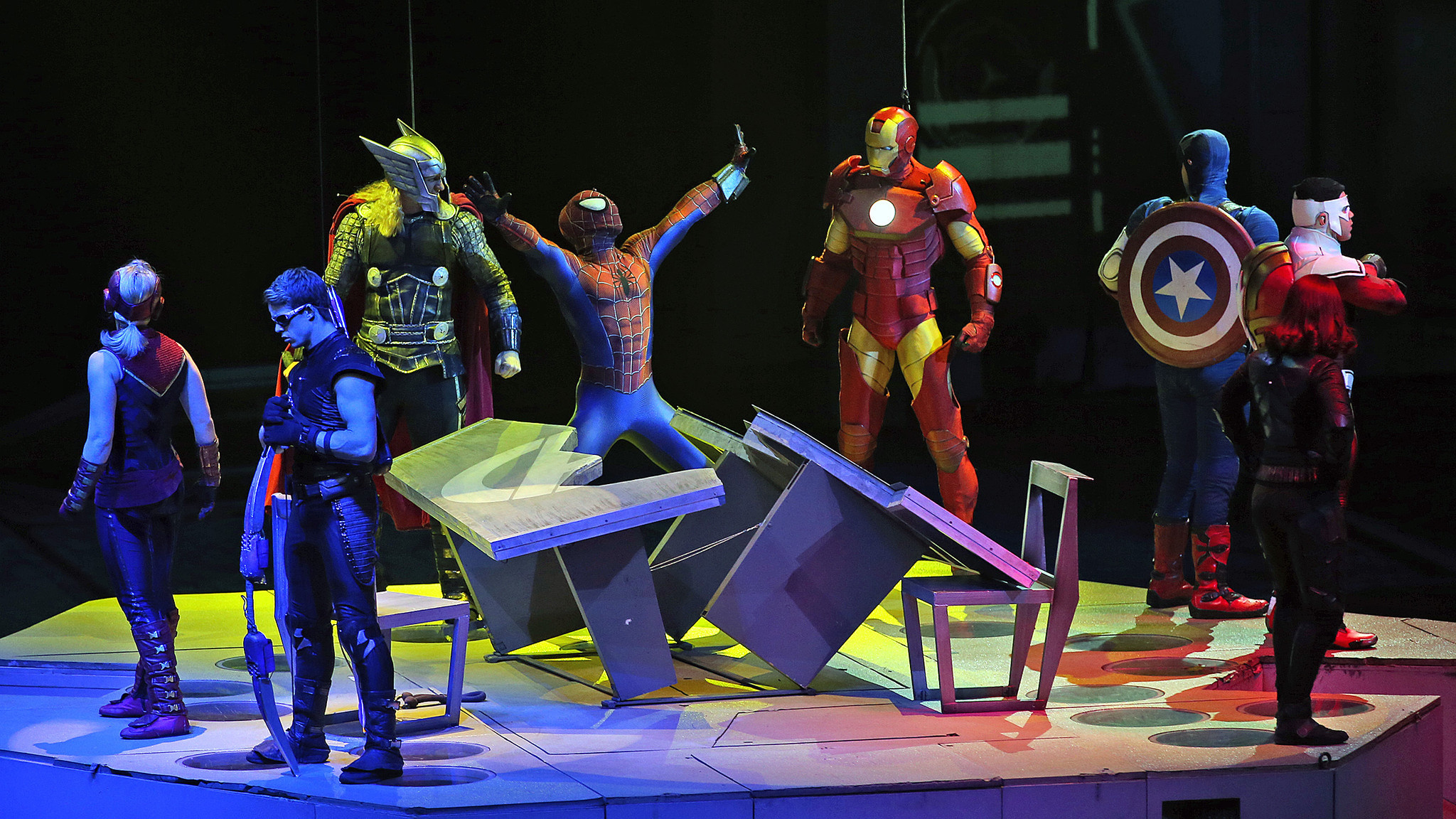 Review Marvel Universe Live At Ppl Center Has Flaws But