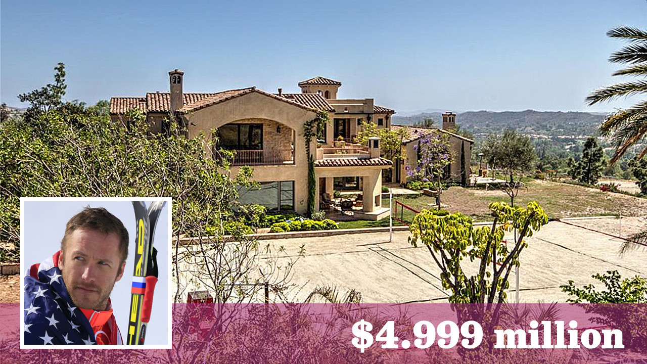 Skiing Champ Bode Miller Lists His Home In Orange County S