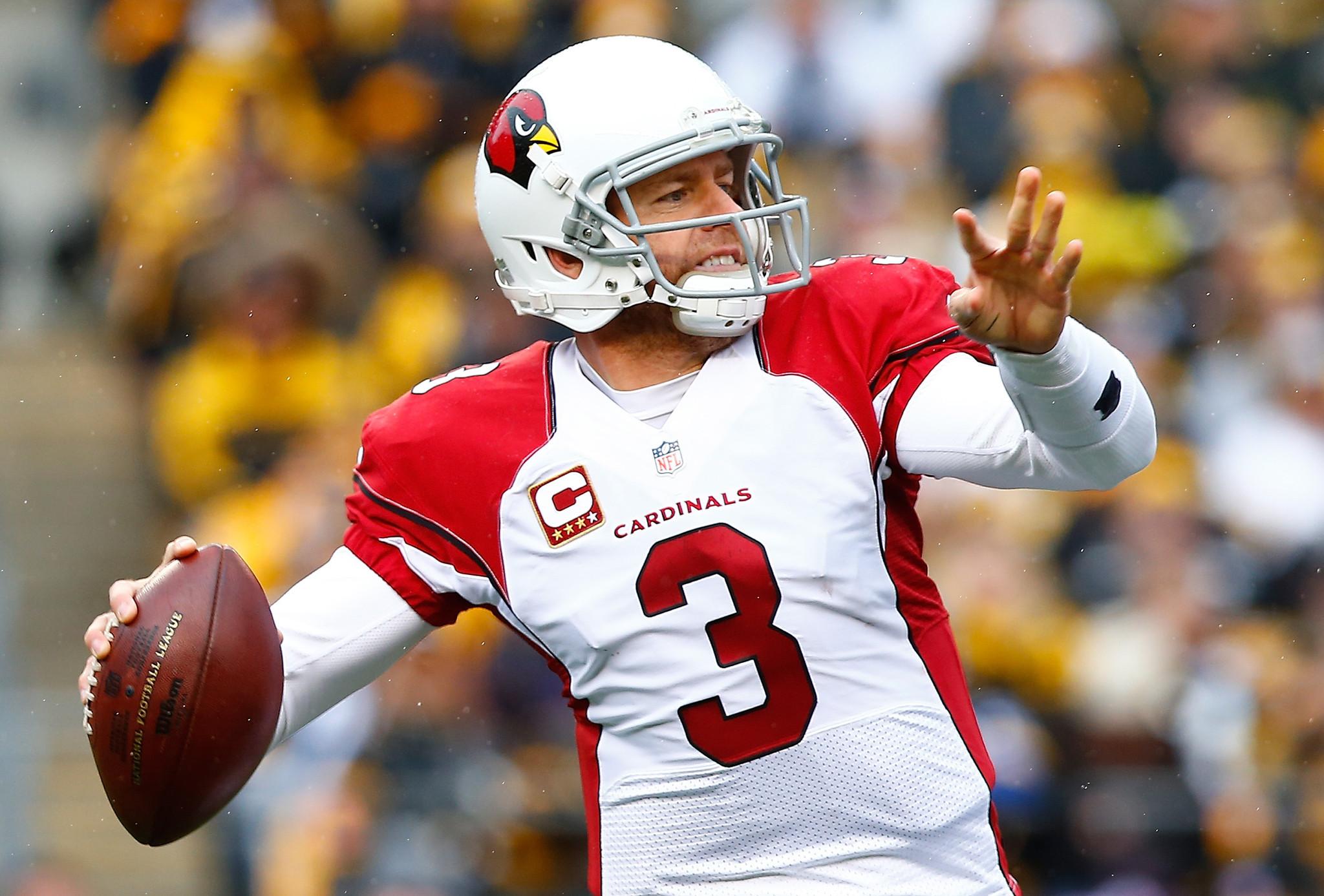 carson palmer cardinals morris buddy ring quarterback football coach ravens room honor bs sp 1024 defending smartest game press ibtimes