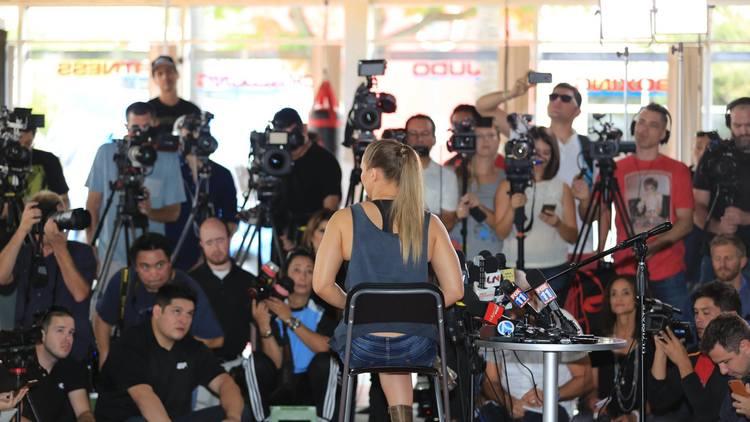 EN FOTOS: Un día de prensa con Ronda Rousey