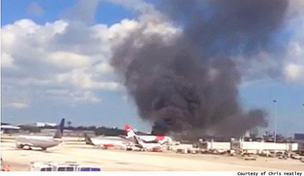 Passenger jet catches fire at Fort Lauderdale airport - Sun Sentinel