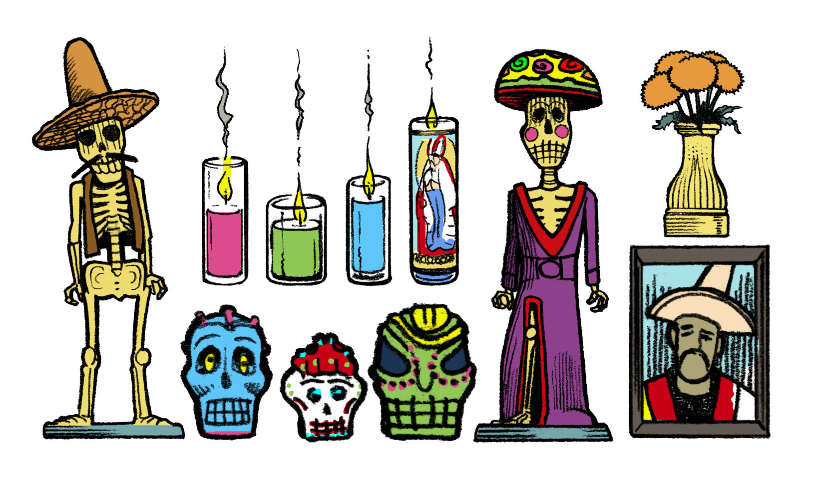 Anatomy Of A Day Of The Dead Altar Chicago Tribune