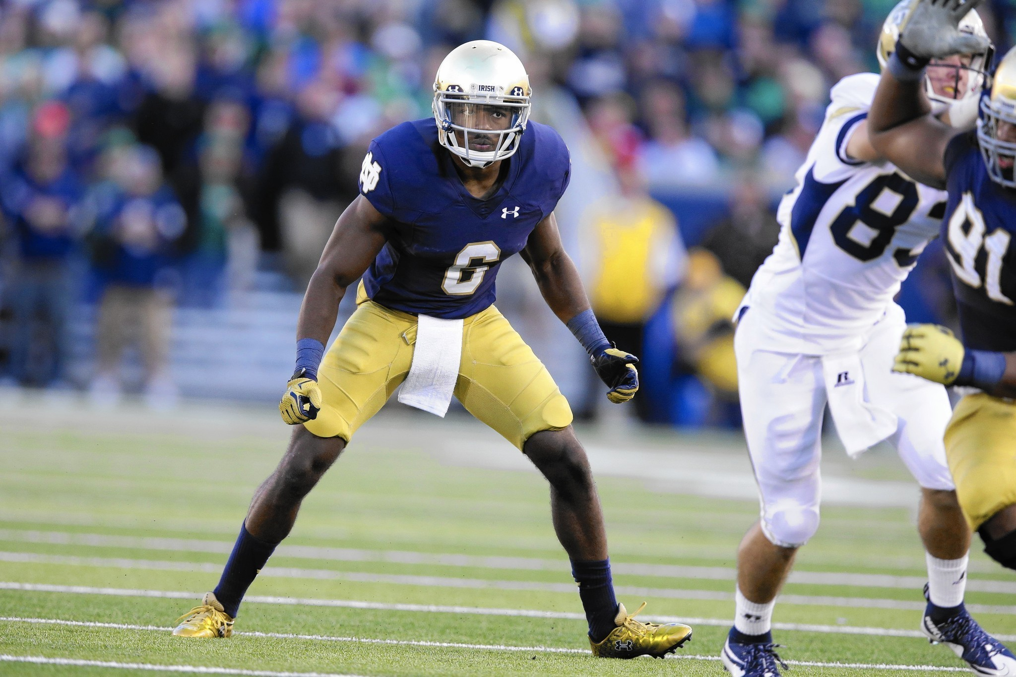 Drought ends at right time for Notre Dame's KeiVarae ...