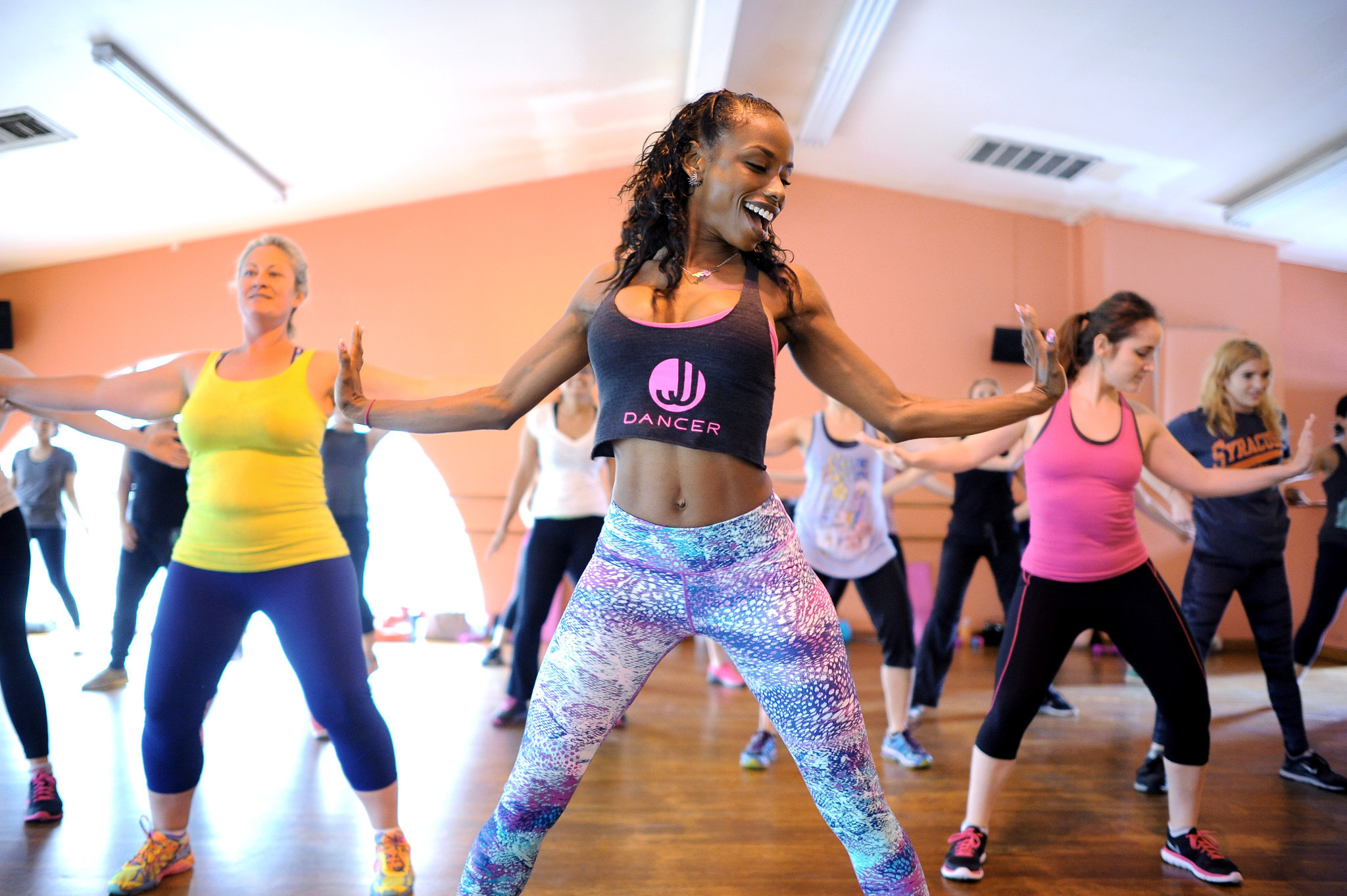 Dance Fitness Classes Make Exercise Like A Party La Times
