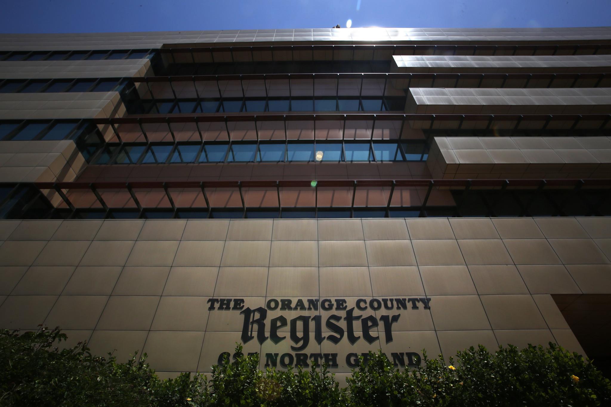 Orange County Register owner files for bankruptcy - LA Times