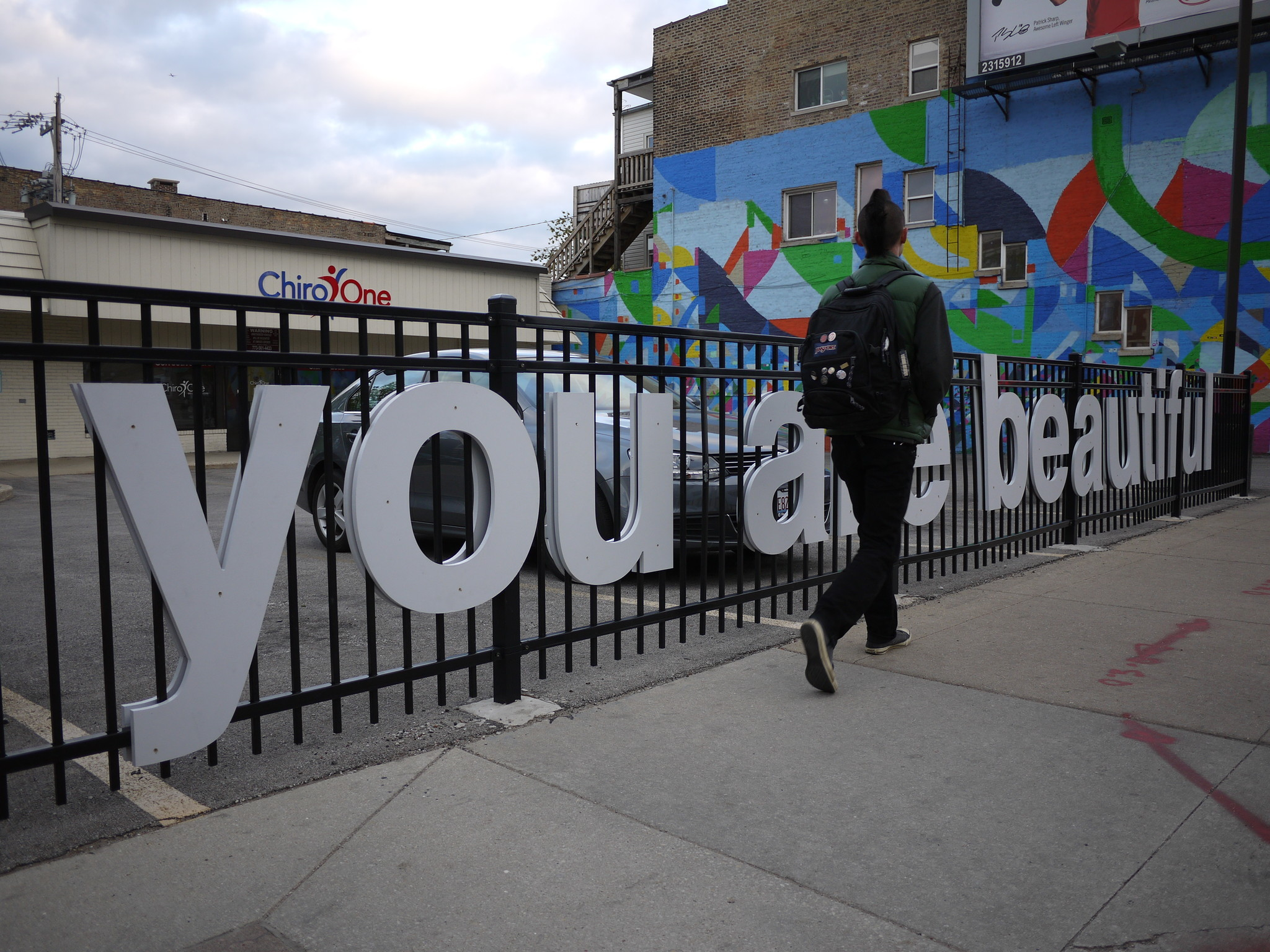 Meet The Artist Behind Many You Are Beautiful Signs Around Chicago Redeye