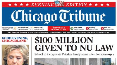 Chicago Tribune Com >> Chicago Tribune Enewspapers