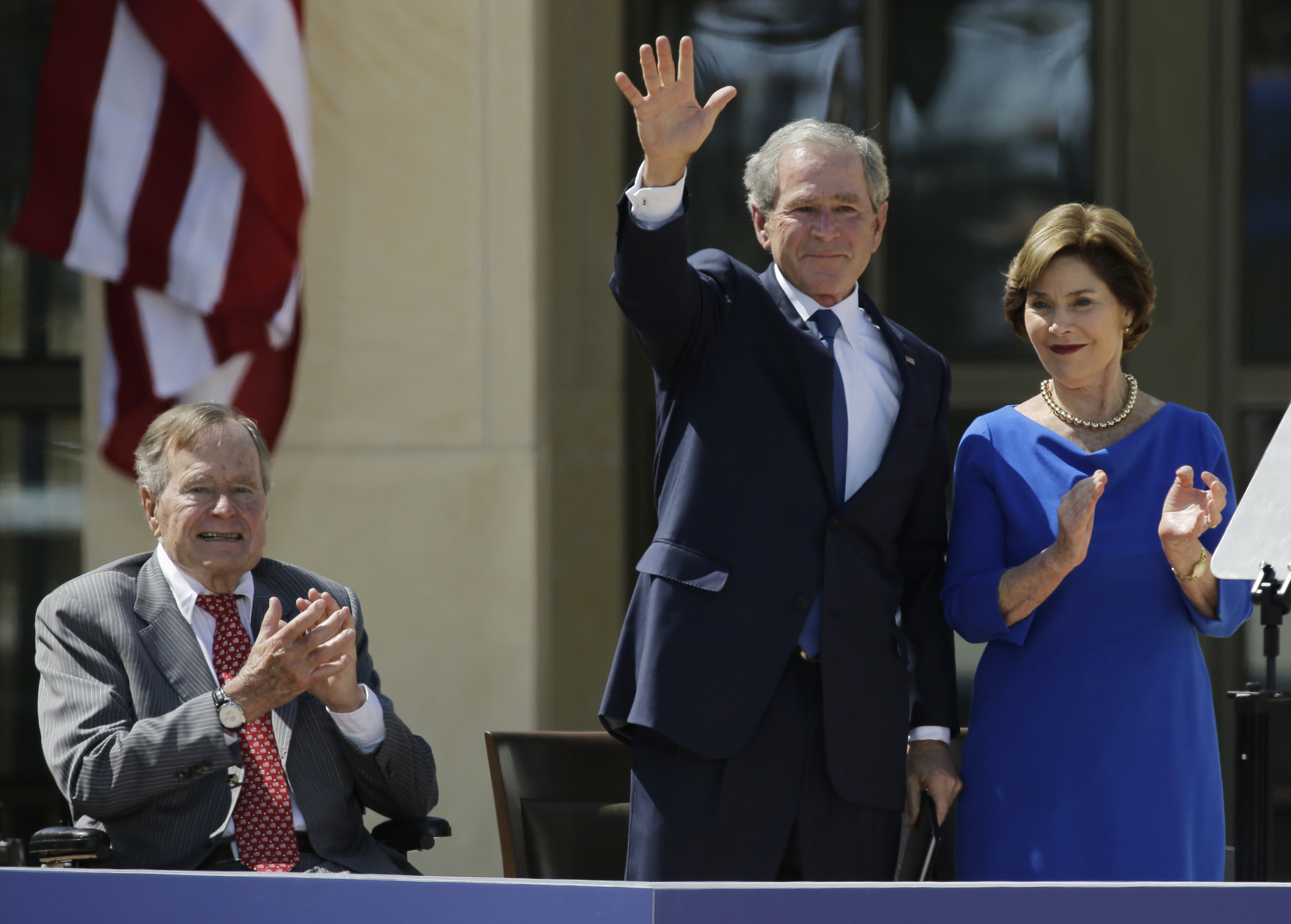 George H W Bush Criticizes Cheney And Rumsfeld For
