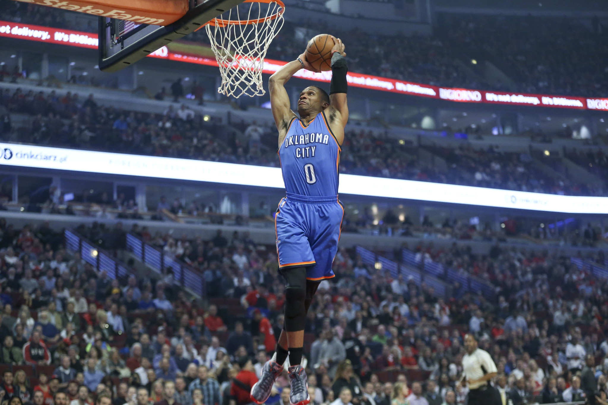 Russell Westbrook Does It All For Thunder In Loss To Bulls