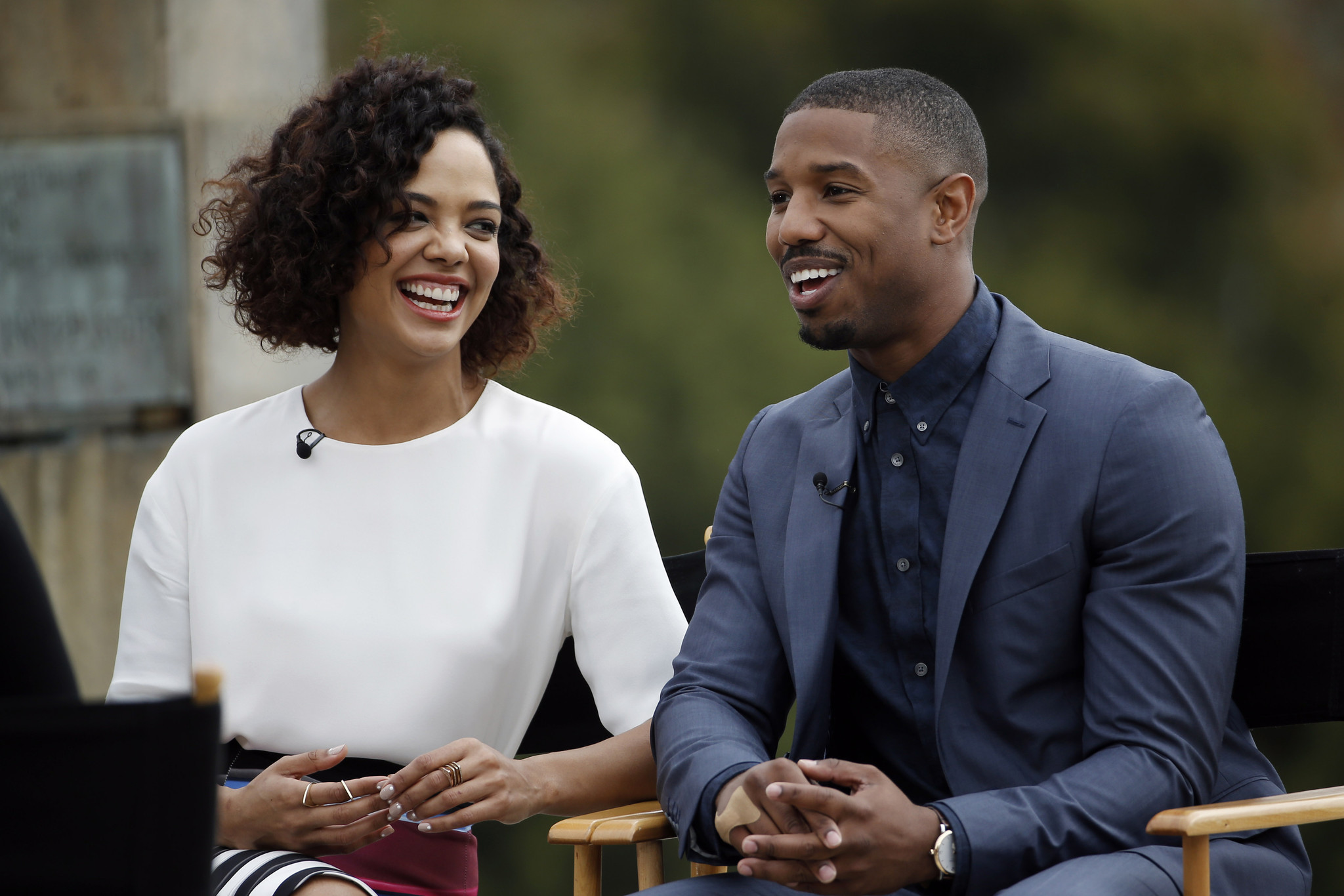 creed star proudly plays hearing impaired character chicago tribune