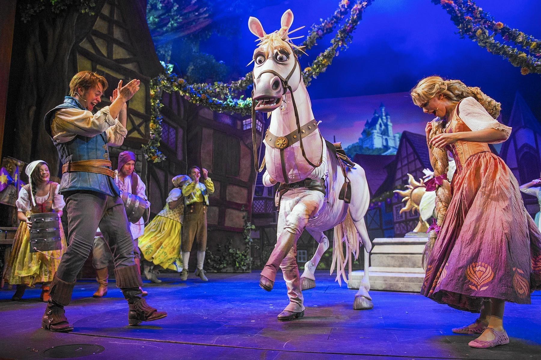 Tangled The Musical Debuts On Disney Magic Orlando Sentinel