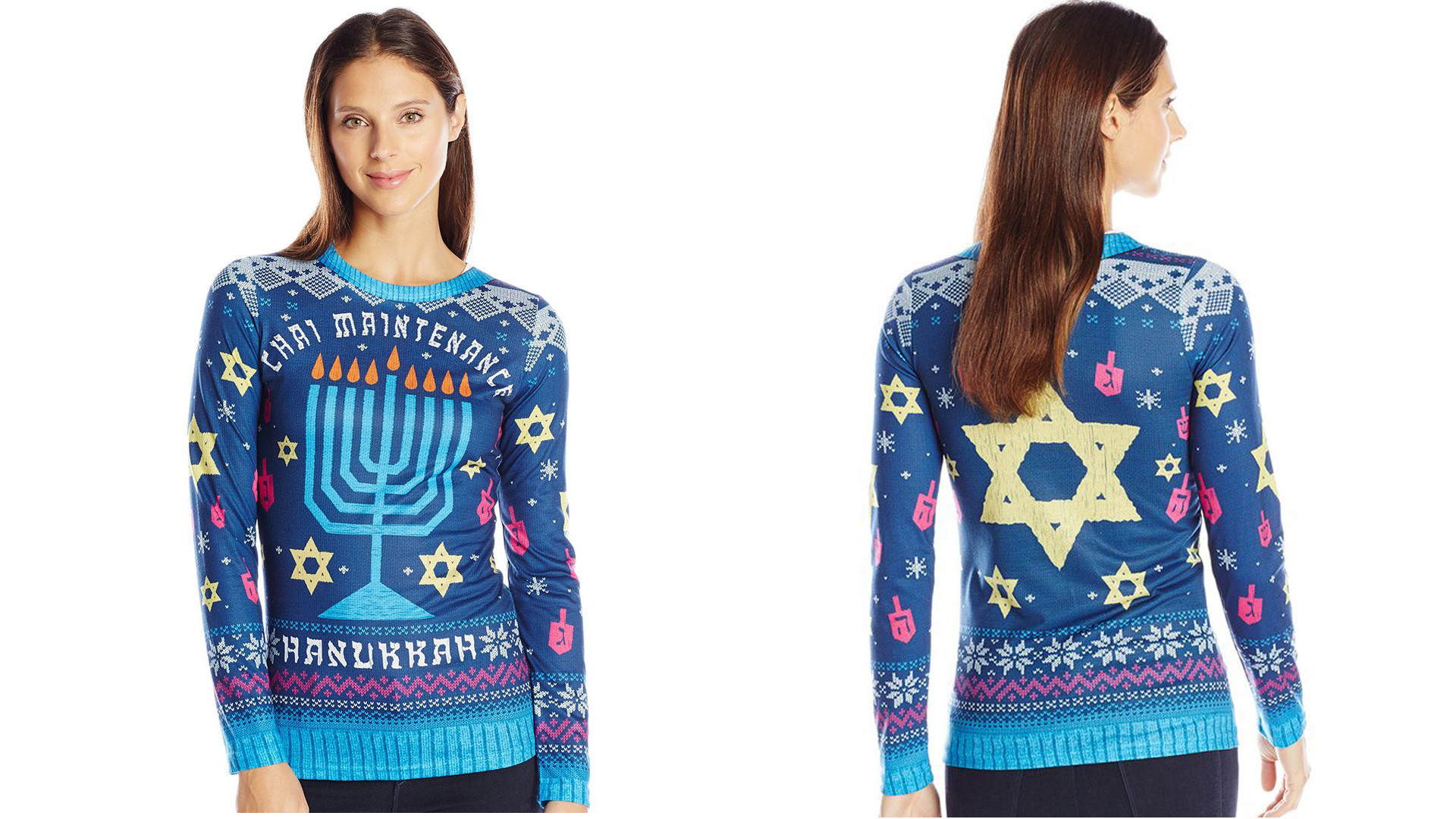 Nordstrom pulls controversial Hanukkah sweater after Facebook ...