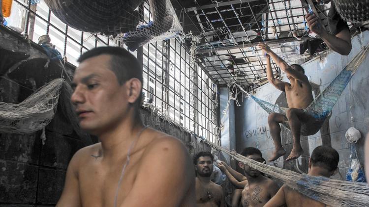 Detainees in El Salvador