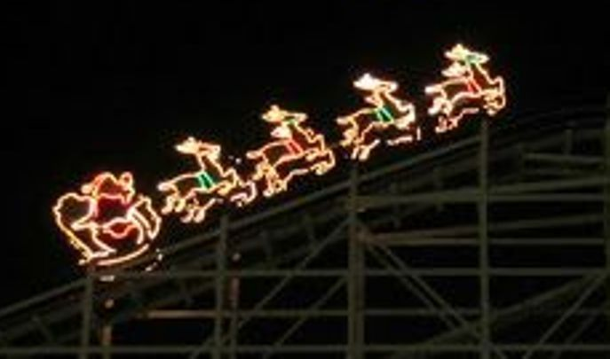 millions of lights sparkle at hersheyparks candylane the morning call - Hershey Christmas Lights