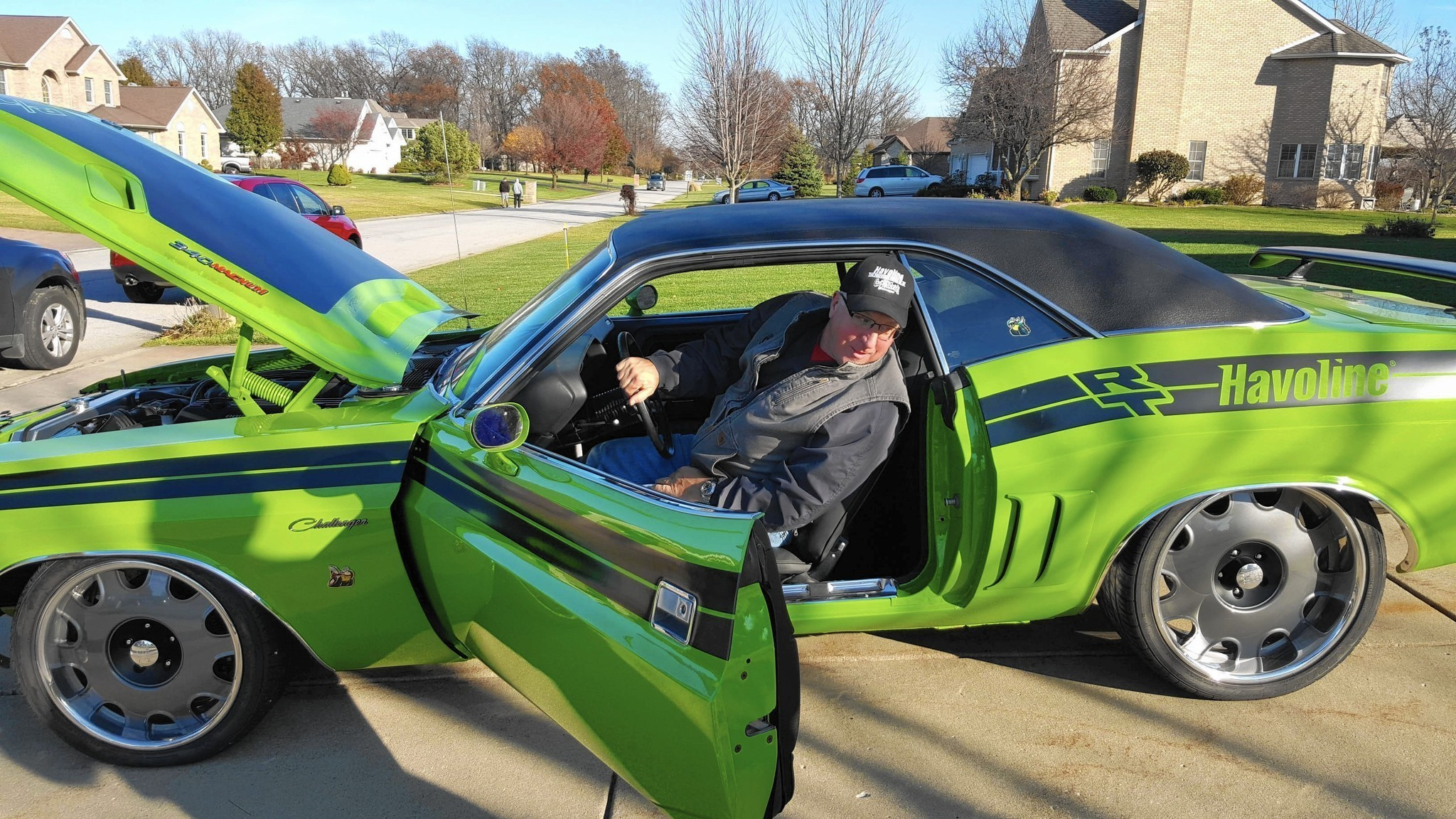 Contest Entry Puts Classic In Dyer Man S Driveway Post Tribune