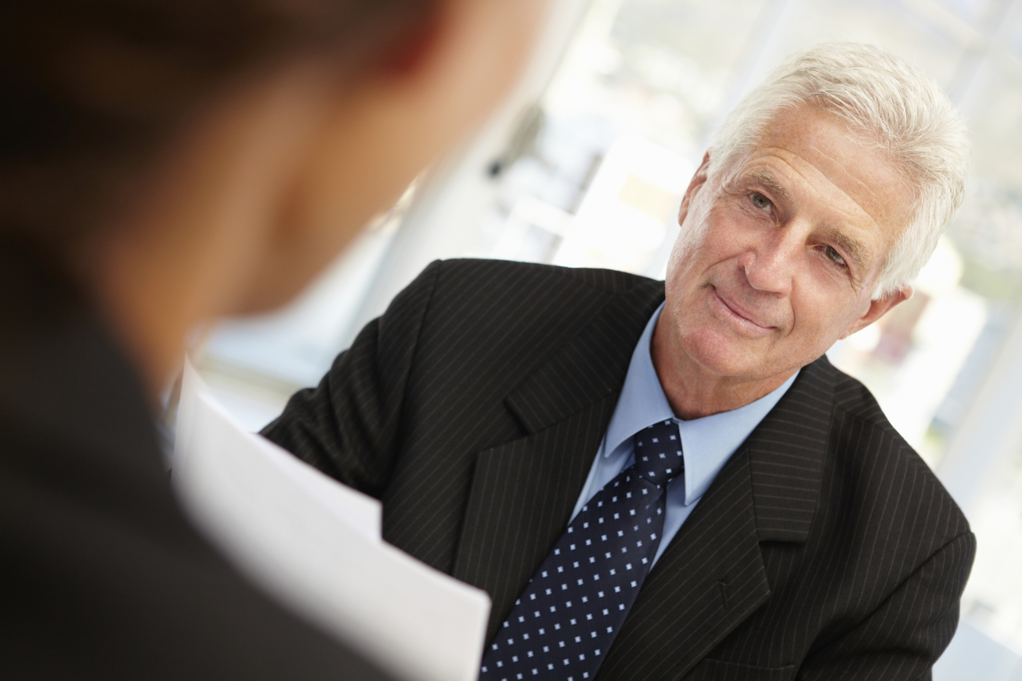 interview with an old person