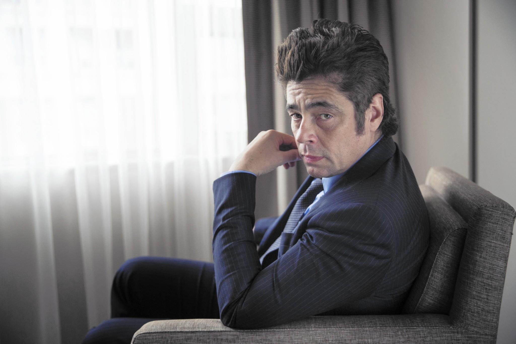 Benicio Del Toro Knows You've Seen Him In Drug War Stories