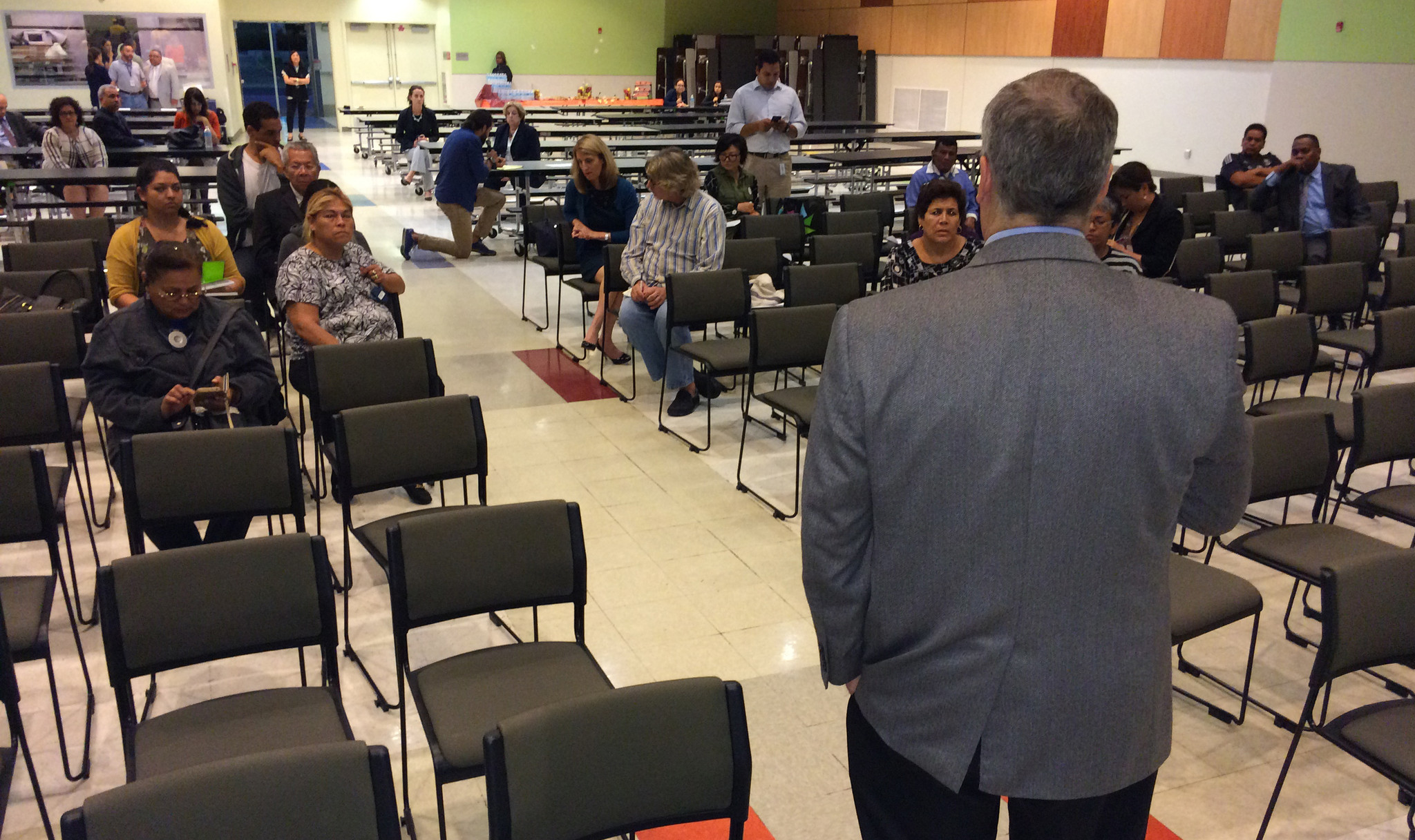 About two dozen people showed up last month to the Roybal Learning Center, just west of downtown, to talk about what they want in a new L.A. schools chief. (Los Angeles Times)