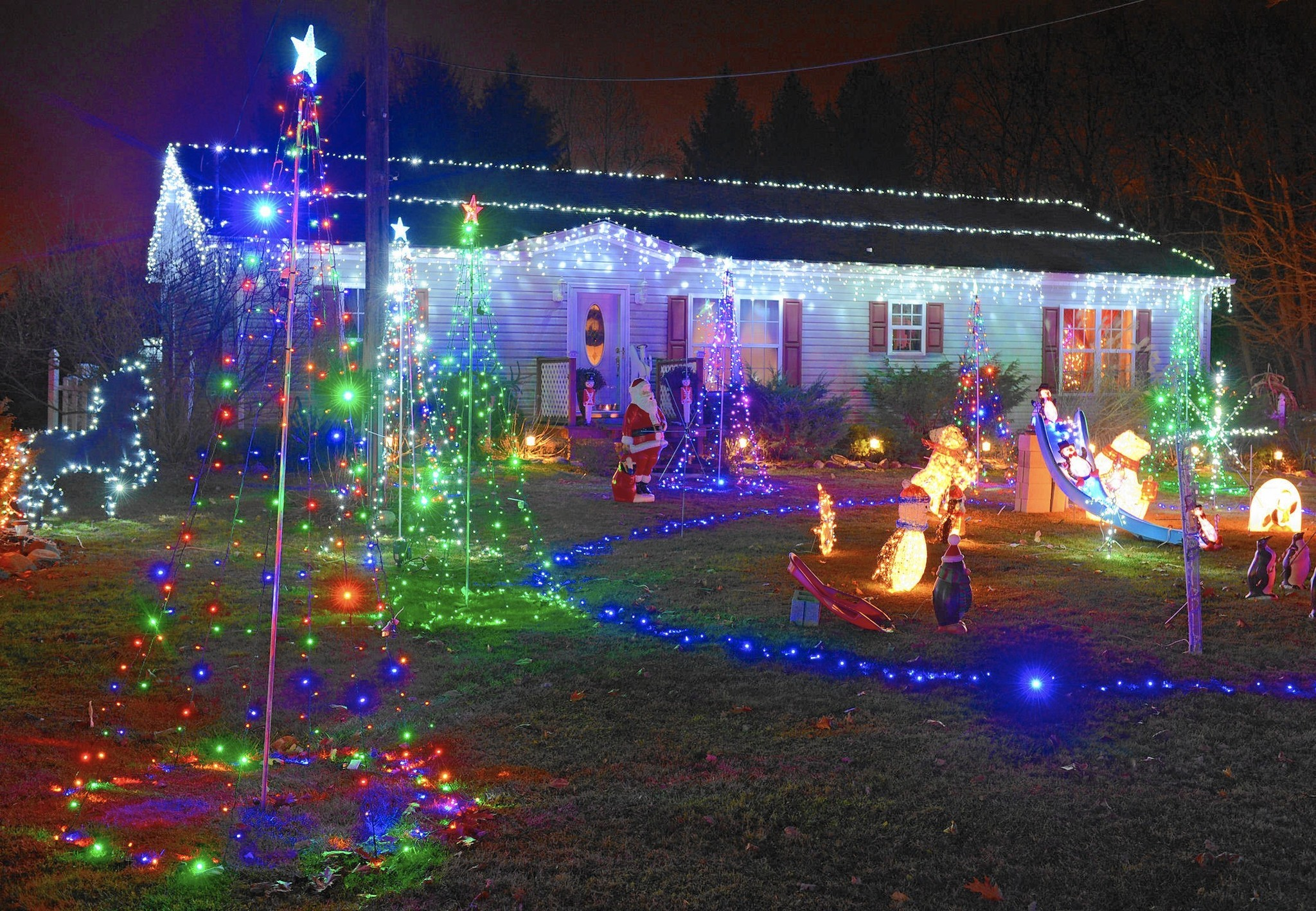 Garden Protect Shrubs Plants When Putting Up Holiday Lights The Christmas Light Wiring Ideas Decorating Morning Call