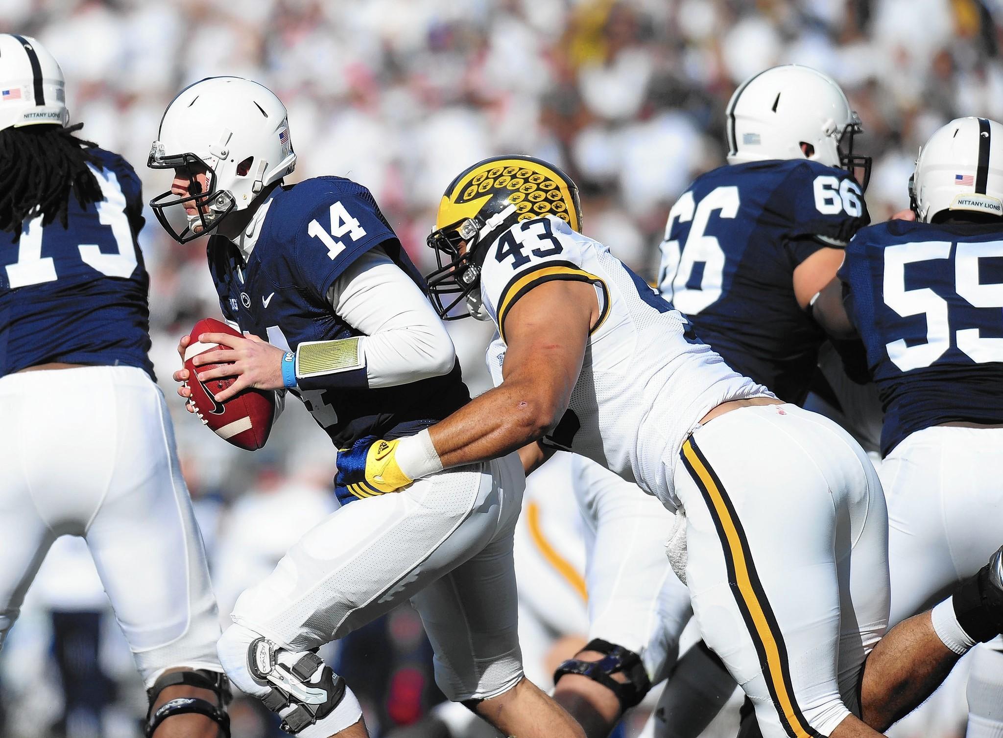 College quarterback ass pounding team mate
