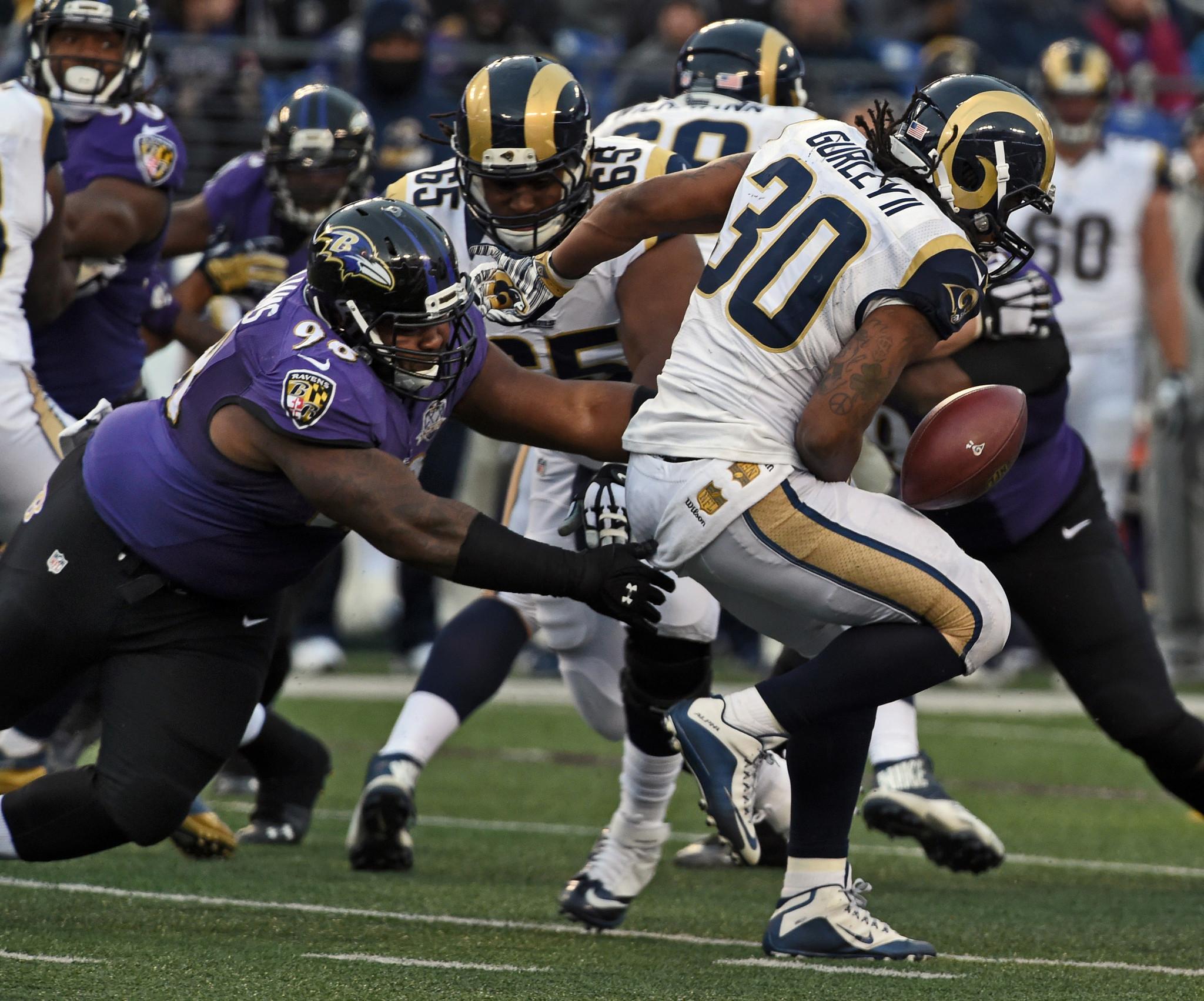 Brandon Williams Ravens Run Defense Stifle Rams Star Todd