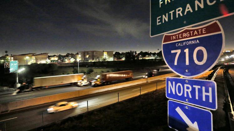 studying the...I 710 Freeway