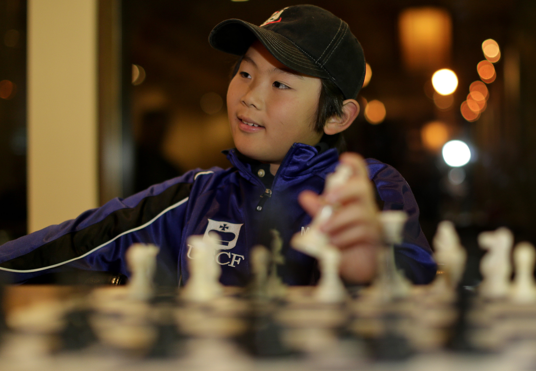 Youngest U S  Chess Master, 10: I've Got To Work On My End