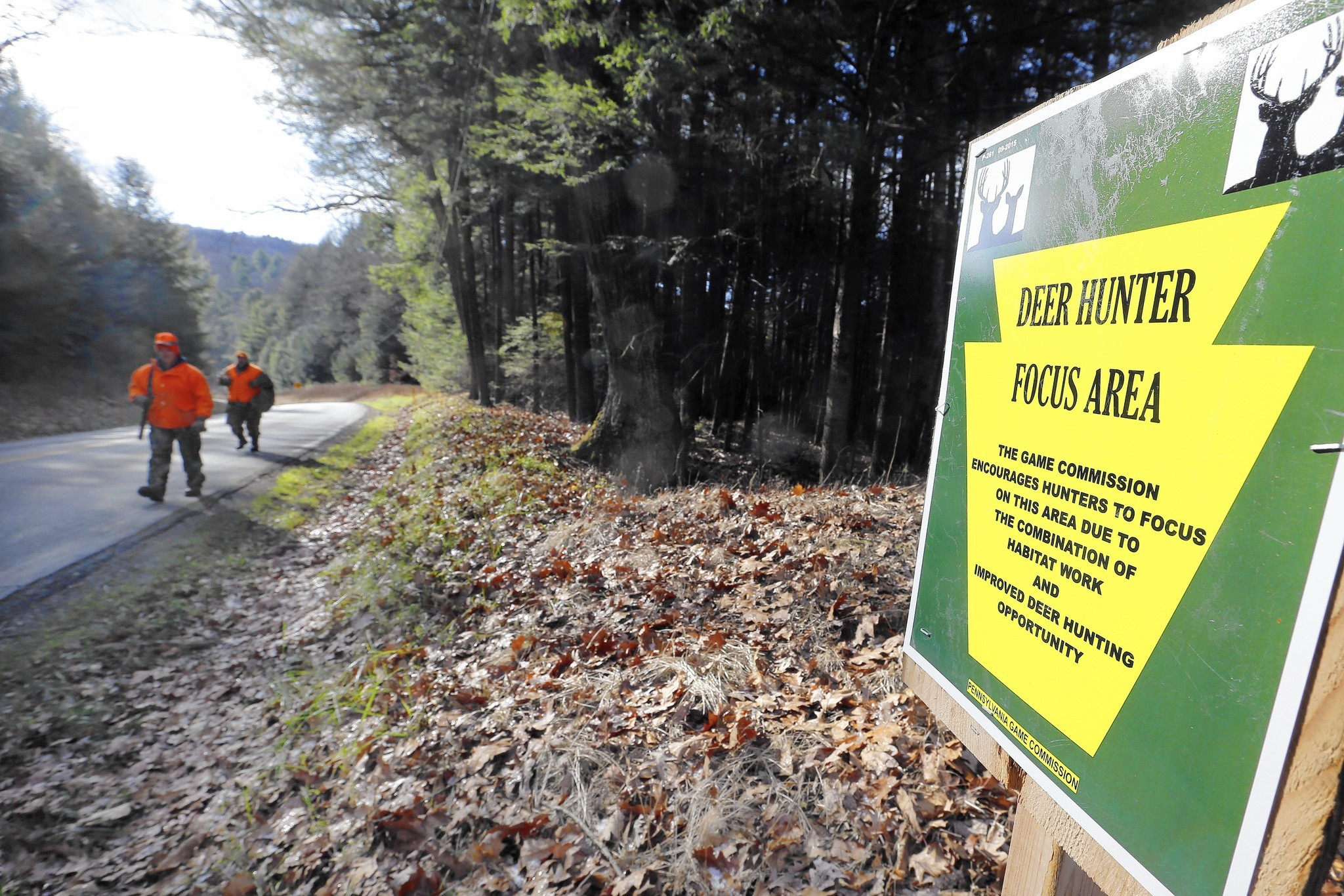 Deer here: Pa  Game Commission to steer hunters to prime