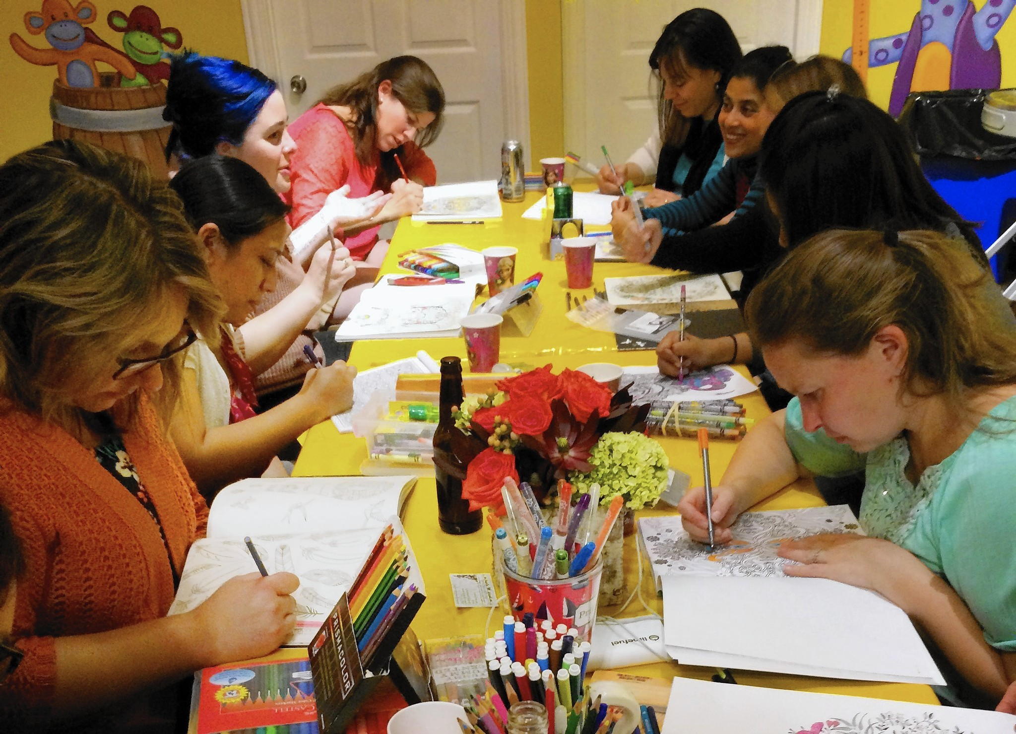 Adults Are Coloring Again And Sales Of Coloring Books For