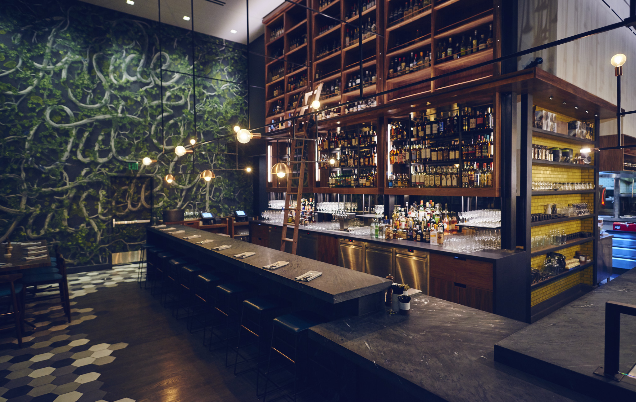 Otium The New Restaurant At The Broad Museum Is Just As