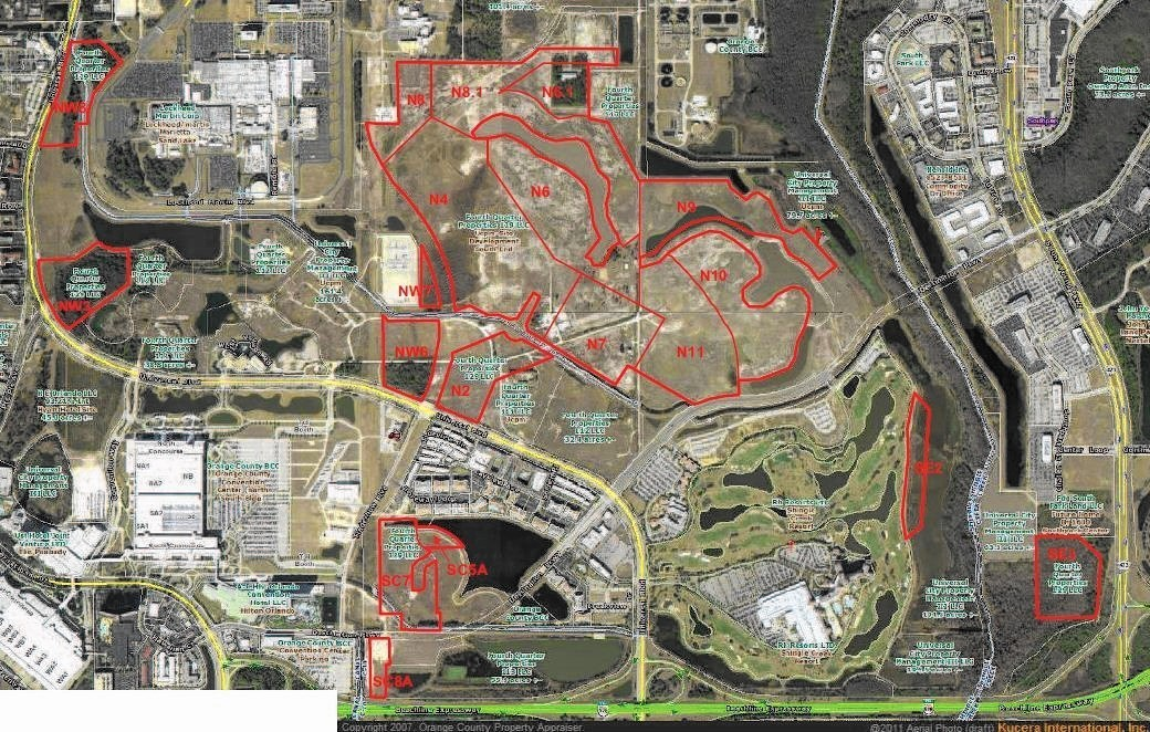 Universal Would Have Zoning For Attraction Hotels On