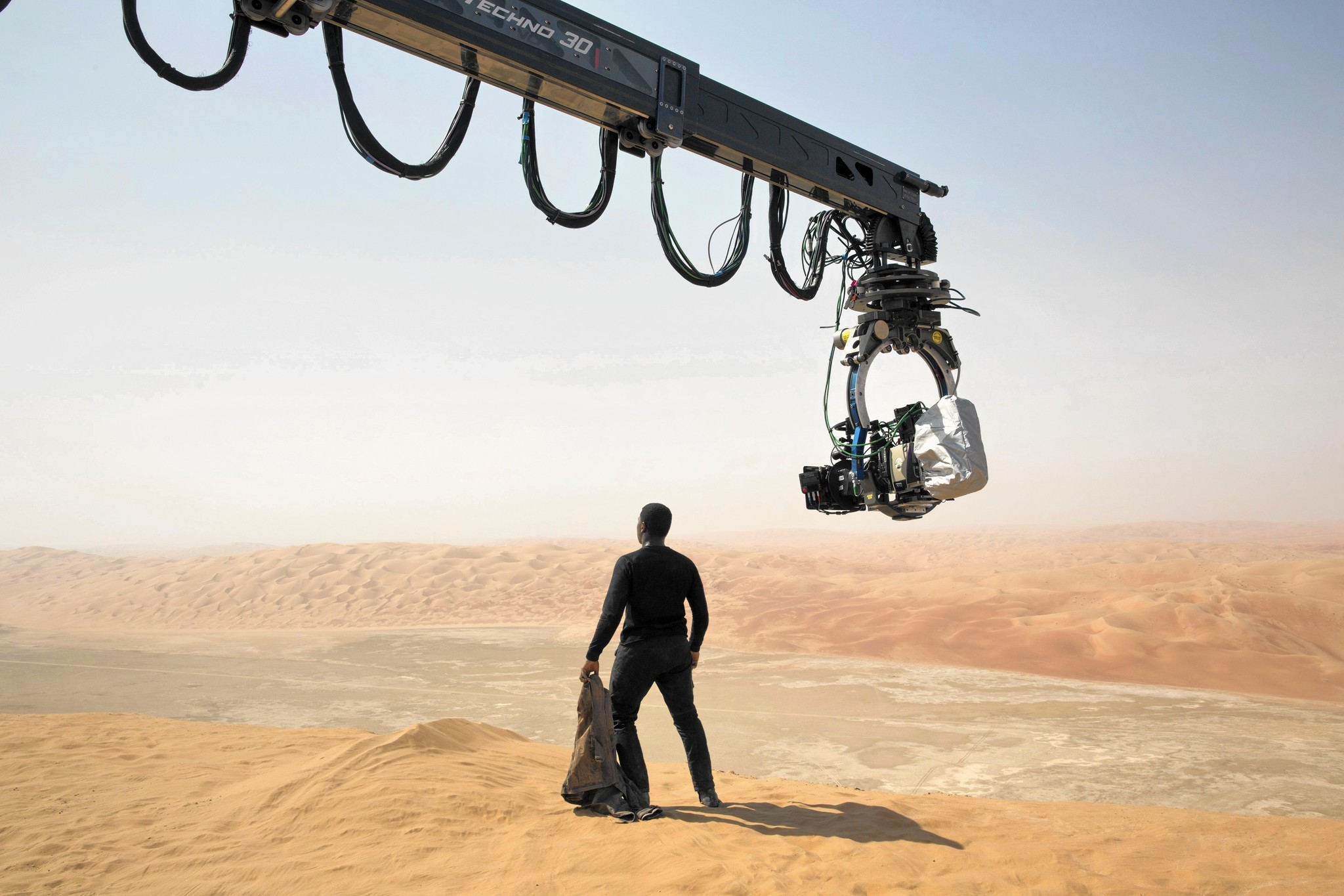 of  Star War...Filming
