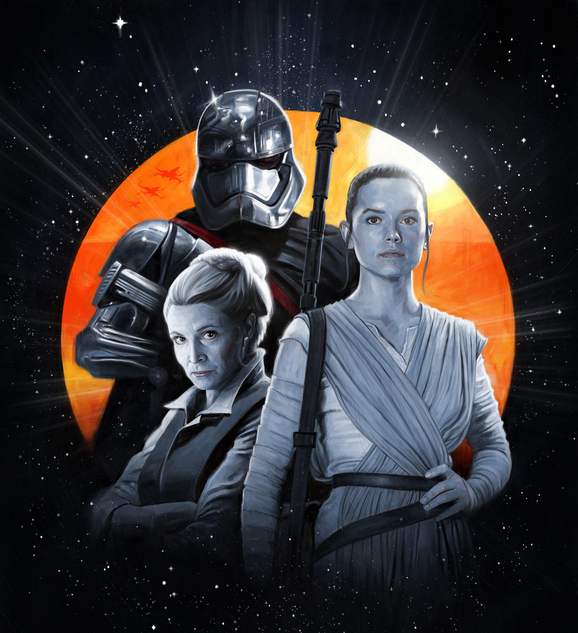The women of 'Star Wars' speak out about their new Empire