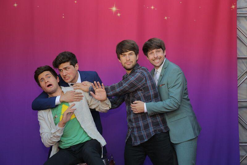 Smosh Guys Added To Madame Tussauds Orlando Wax Lineup