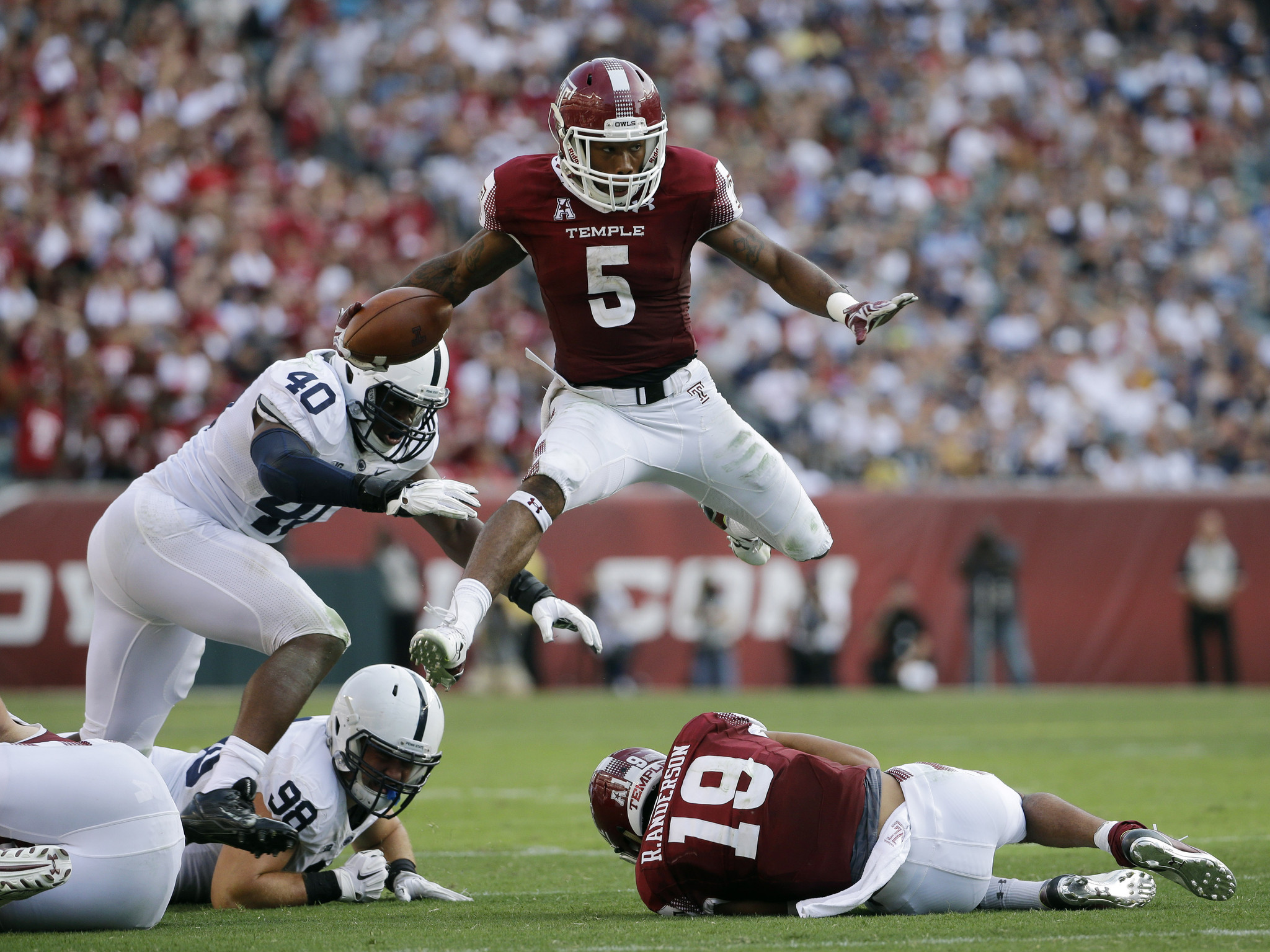 Saturday S Ncaa Football Tv Schedule Temple Gets
