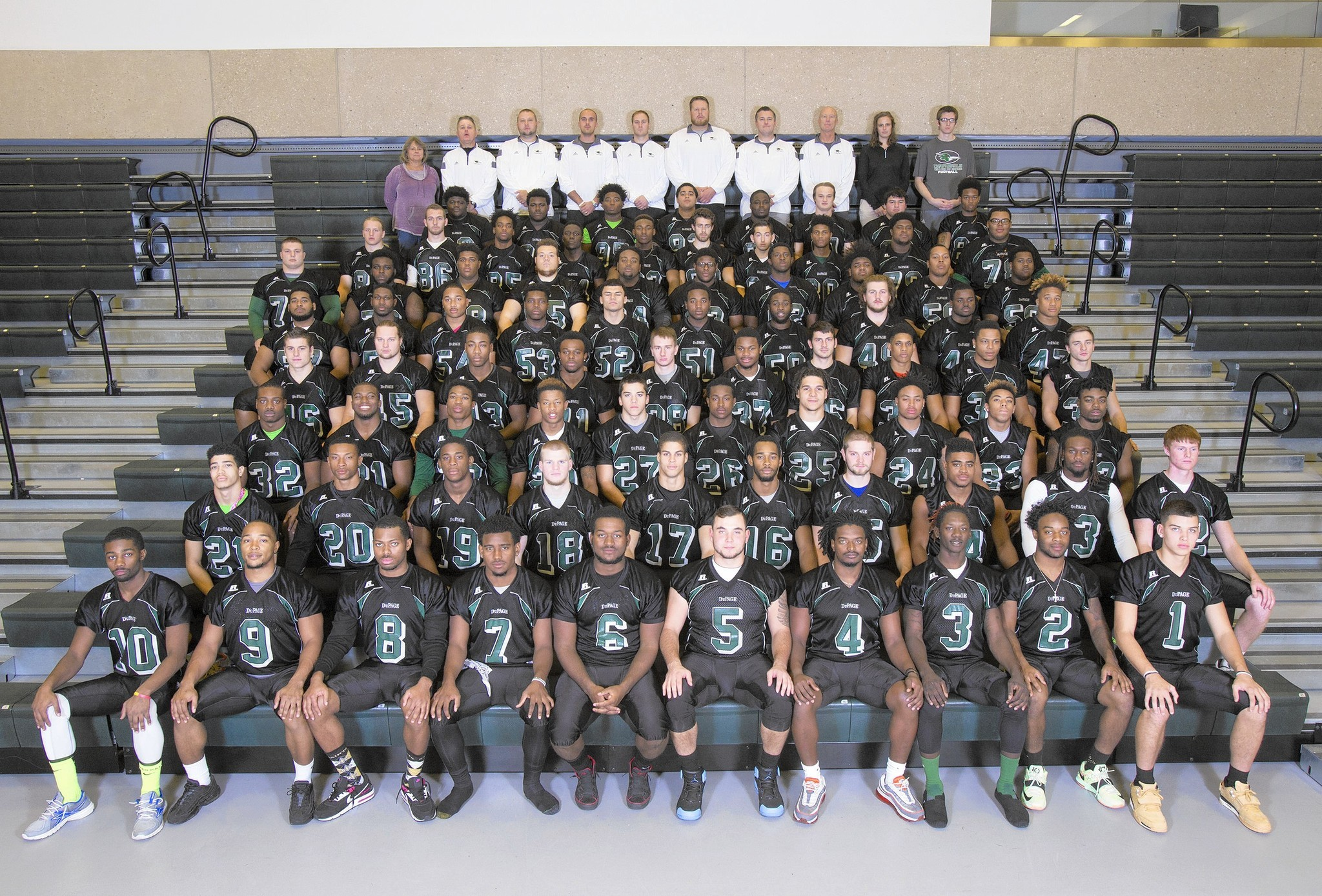 College Of Dupage Football Roster 62