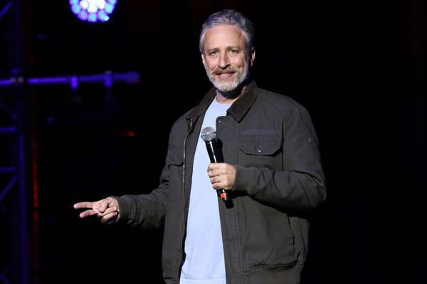 Jon Stewart returns to 'The