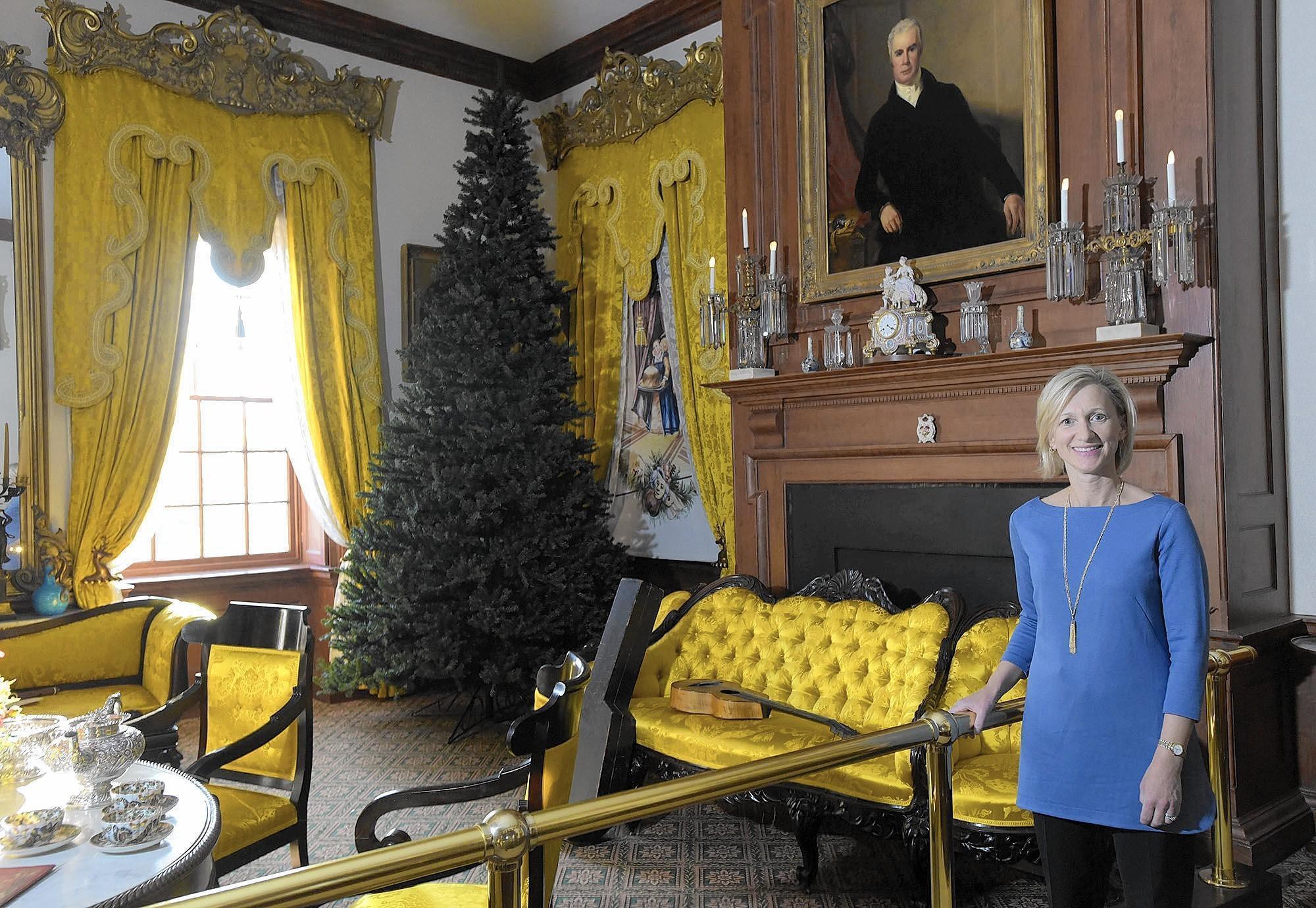 Hampton Mansion In Towson Puts Descendant Of Original